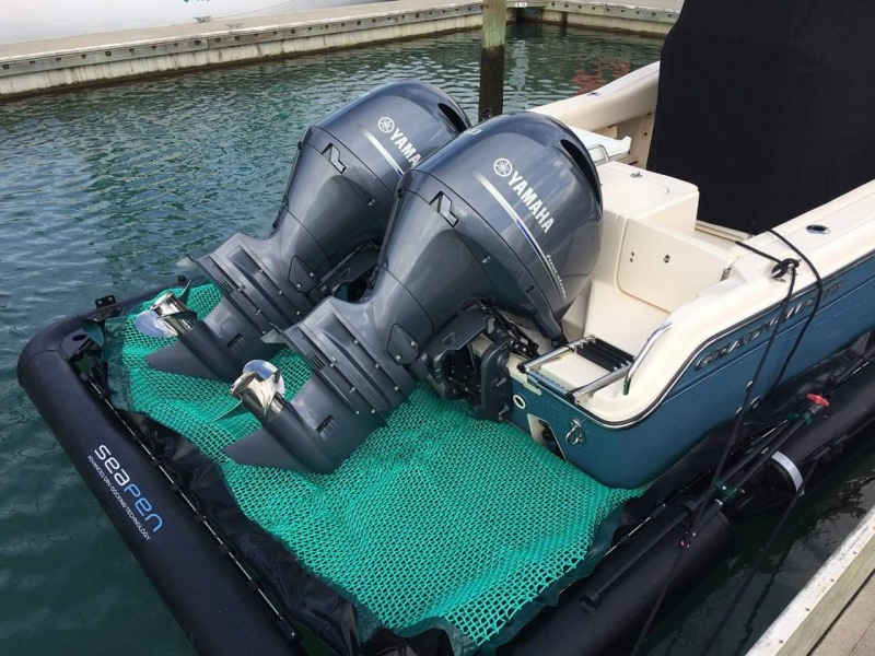 Seapen-dry-boat-engines