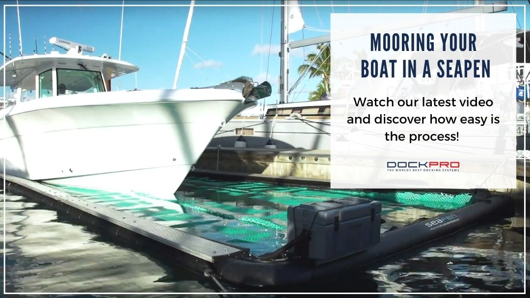 Mooring your boat in a SeaPen