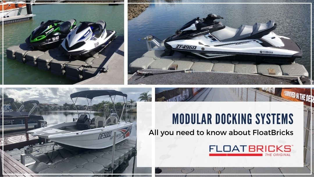 Modular Docking Systems – All you need to know about FloatBricks.